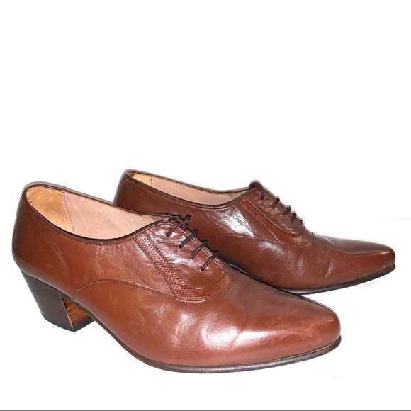 D Rafdel Shoes D Rafdel Womens Brown Oxfords Made In Spain Poshmark